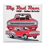 Big Red Ram 2014 Tile Coaster