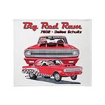 Big Red Ram 2014 Throw Blanket