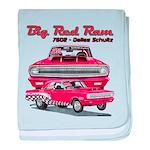 Big Red Ram 2014 baby blanket