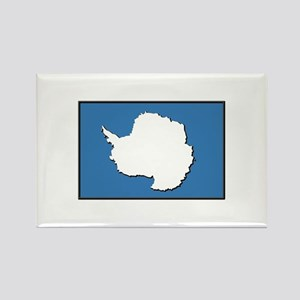 Flag of Antarctica Rectangle Magnet