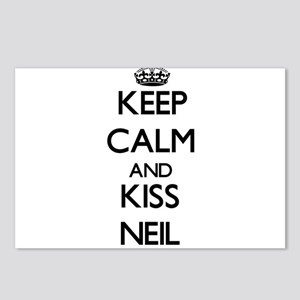 Keep Calm and Kiss Neil Postcards (Package of 8)