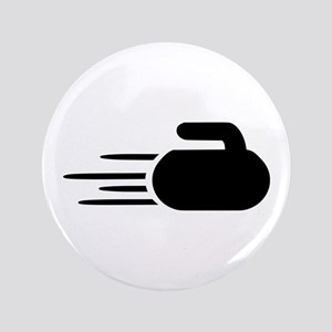 """Curling stone 3.5"""" Button"""