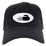 Curling stone Baseball Cap with Patch