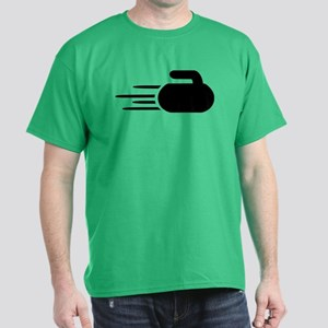 Curling stone Dark T-Shirt