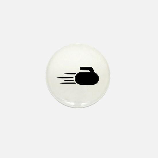 Curling stone Mini Button