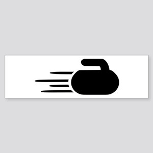 Curling stone Sticker (Bumper)