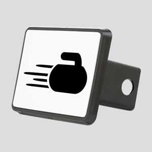 Curling stone Rectangular Hitch Cover