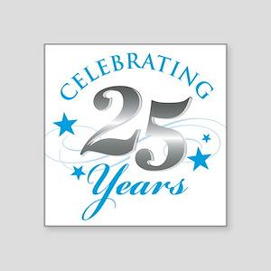 Celebrating 25 years Sticker