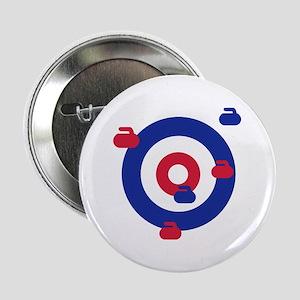 "Curling field target 2.25"" Button"