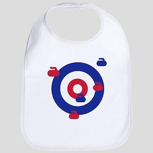 Curling field target Bib