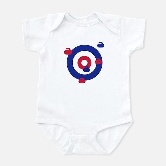 Curling field target Infant Bodysuit