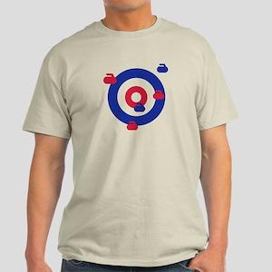 Curling field target Light T-Shirt