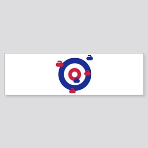 Curling field target Sticker (Bumper)