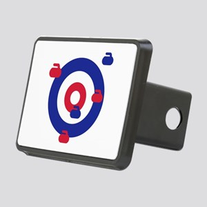 Curling field target Rectangular Hitch Cover