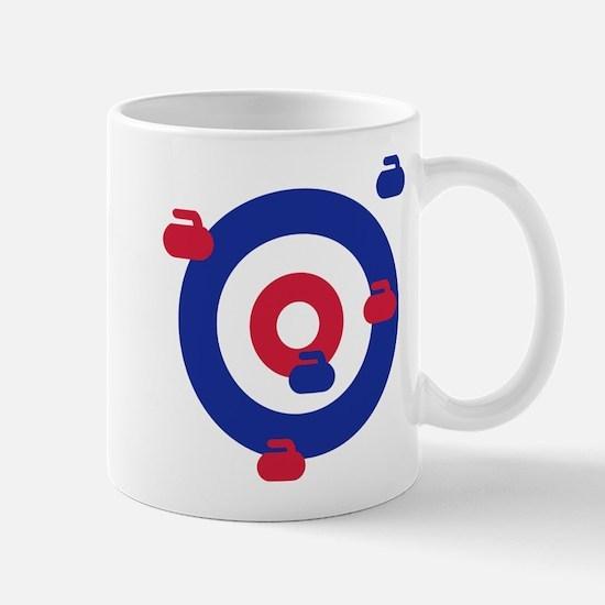 Curling field target Mug