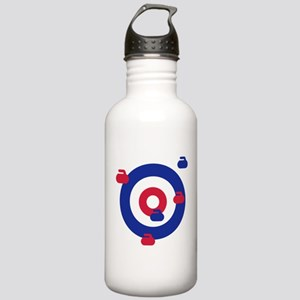 Curling field target Stainless Water Bottle 1.0L