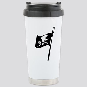 Baargh-B-Q flag Travel Mug