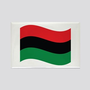 The Red, Black and Green Flag Magnets