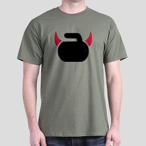 Curling devil Dark T-Shirt
