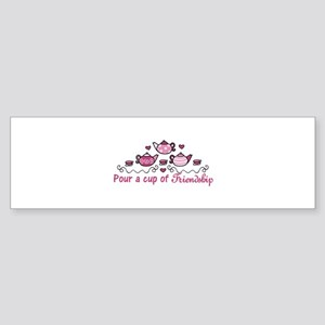 Pour A Cup Bumper Sticker