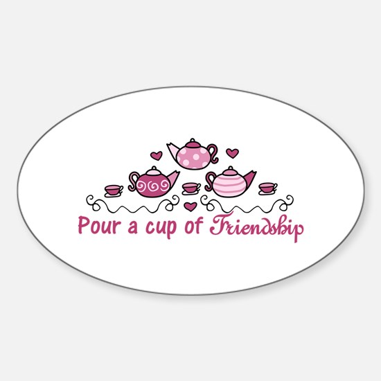 Pour A Cup Decal