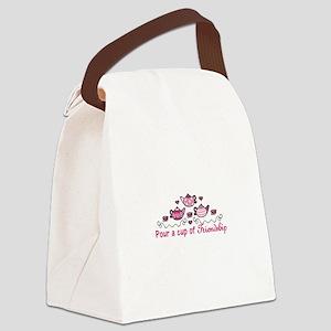 Pour A Cup Canvas Lunch Bag