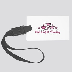 Pour A Cup Luggage Tag