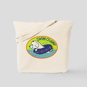 Swim Champ Tote Bag