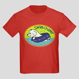 Swim Champ Kids Dark T-Shirt
