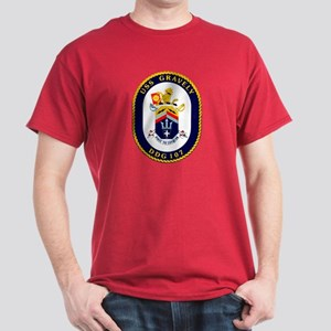 DDG 107 USS Gravely Dark T-Shirt
