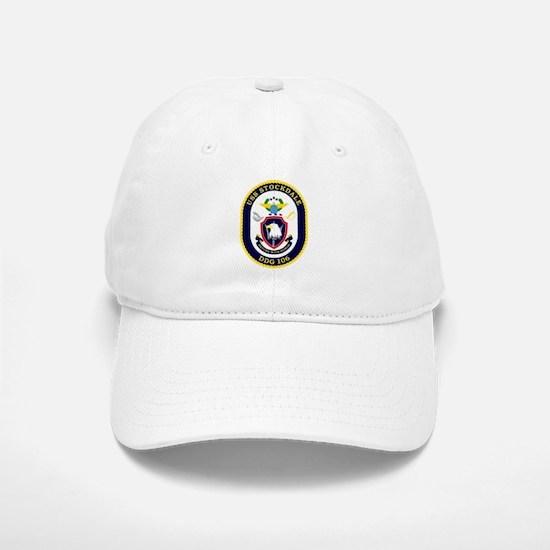 USS Stockdale DDG 106 Baseball Baseball Cap