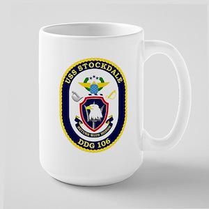 USS Stockdale DDG 106 Large Mug