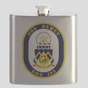 USS Dewey DDG 105 Flask