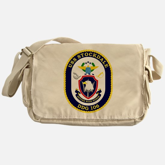USS Stockdale DDG 106 Messenger Bag
