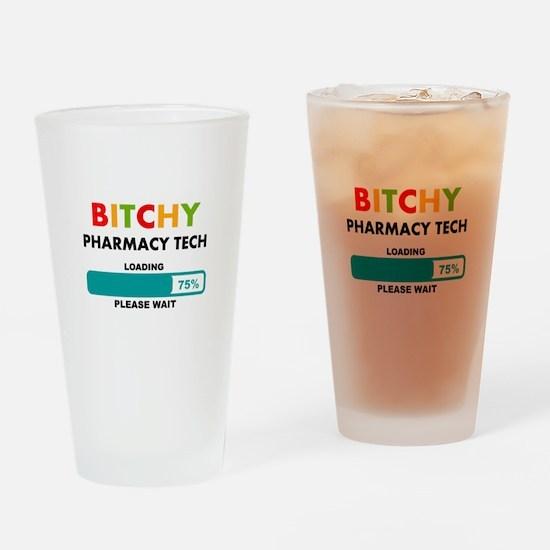 PHARMACY TECH 2 Drinking Glass