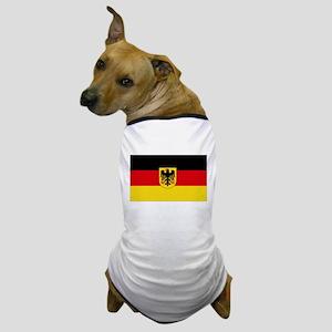 German COA flag Dog T-Shirt