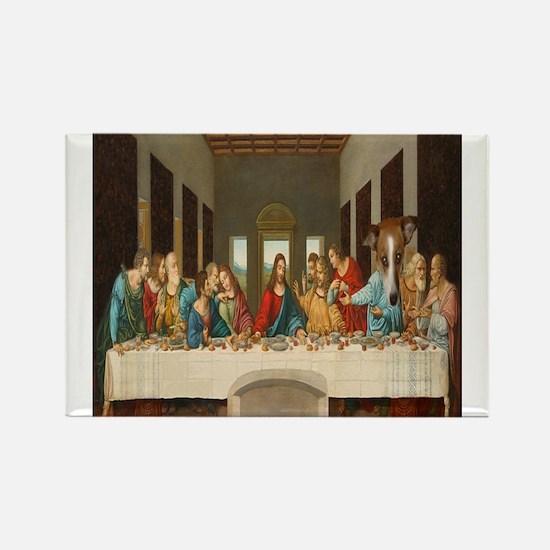 Disciple Dog Last Supper Magnets