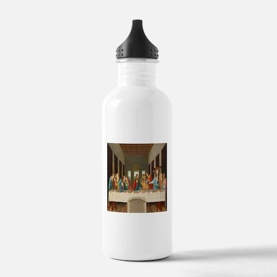 Disciple Dog Last Supper Water Bottle