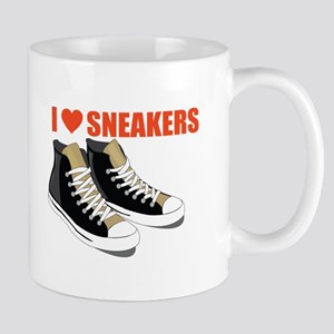 I Love Sneakers Mugs
