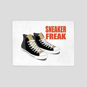 Sneaker Freak 5'x7'Area Rug