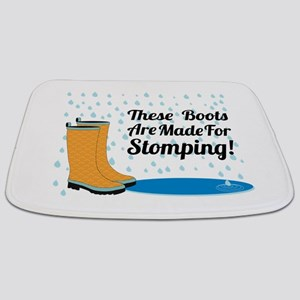 These Boots Are Made For Stomping! Bathmat