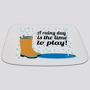 A Rainy Day Is The Time To Play! Bathmat