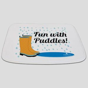 Fun With Puddles! Bathmat