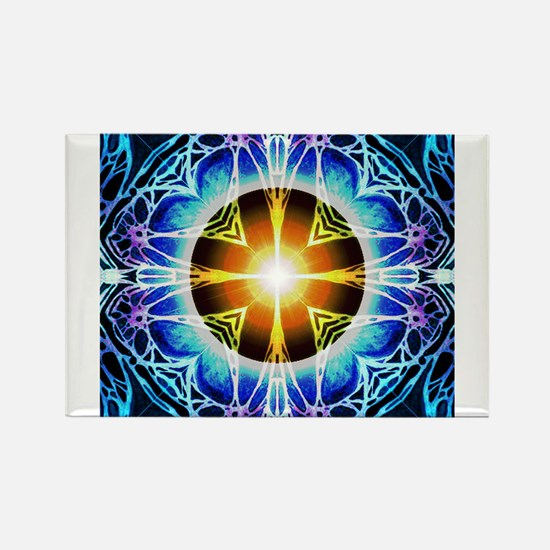 Mandala Rectangle Magnet