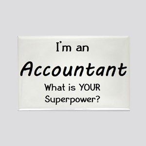 i'm an accountant Rectangle Magnet