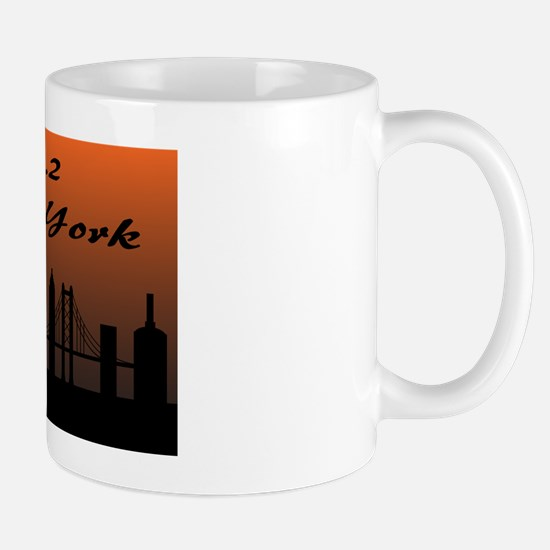 New York City Marathon Mug