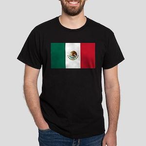 Mexican Flag Dark T-Shirt