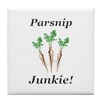 Parsnip Junkie Tile Coaster