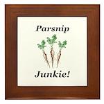 Parsnip Junkie Framed Tile
