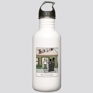 Missile on Roof Gun Co Stainless Water Bottle 1.0L